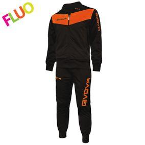 TUTA VISA FLUO černá-svítivá oranžová