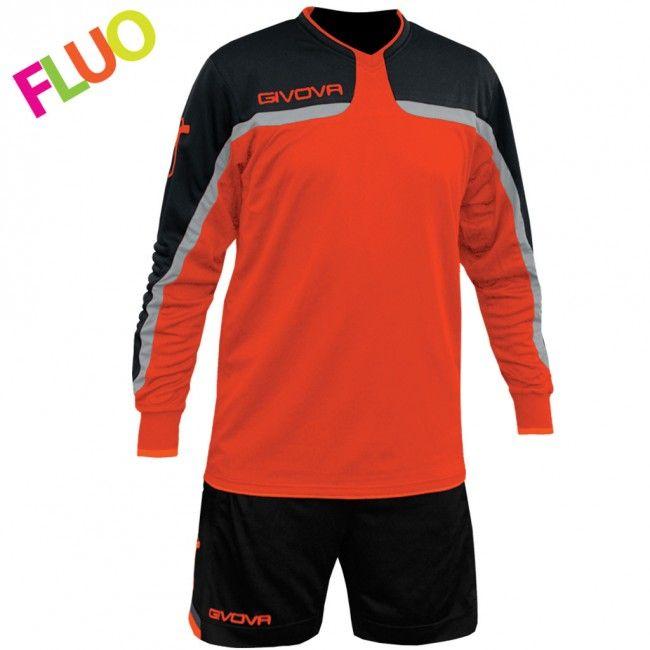 KIT TRAFFORD fluo oranžová-černá